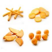 Naše hranolky, krokety a ďalšie zemiakové výrobky