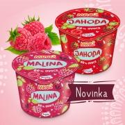 Prima zmrzlina Mrož – z ovocia a tvarohu