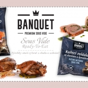 Banquet Sous Vide – riešenia pre HORECA a Retail